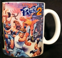 STREETS OF RAGE 2 - Coffee MUG CUP - Axel - Blaze - Megadrive - SEGA
