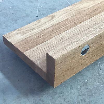 Wandboard L Eiche Massiv Holz Board Regal Steckboard Regalbrett