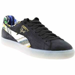 788ee6a14d55 Image is loading Puma-Coogi-Clyde-Formstrip-Sneakers-Black-Mens