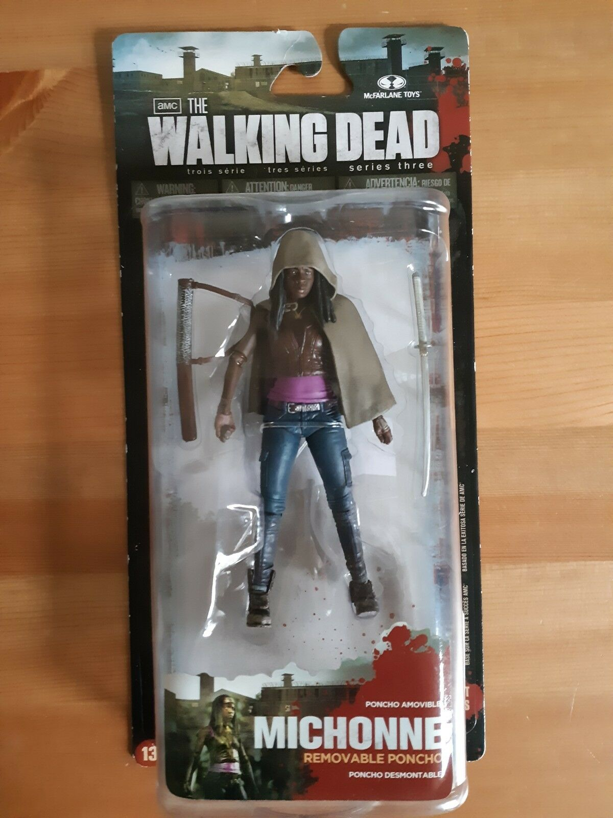 The Walking Dead Series 3 Action Figure - Michonne BRAND NEW - McFarlane Toys