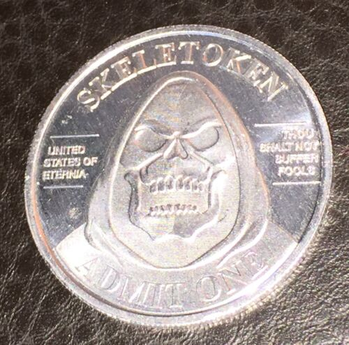SUPER7 SKELETOKEN SDCC 2015 MASTERS OF THE UNIVERSE COIN EXCLUSIVE