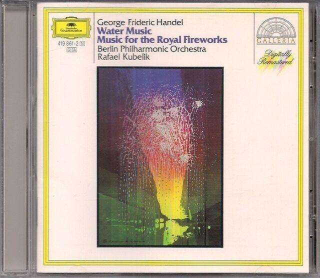 HANDEL (Water Music - Music For the Royal Fireworks) (Kubelik) CD