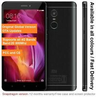 "Global Xiaomi Redmi Note 4x 32GB Smartphone 5.5"" Snapdragon 625 3GB RAM FCC CE"
