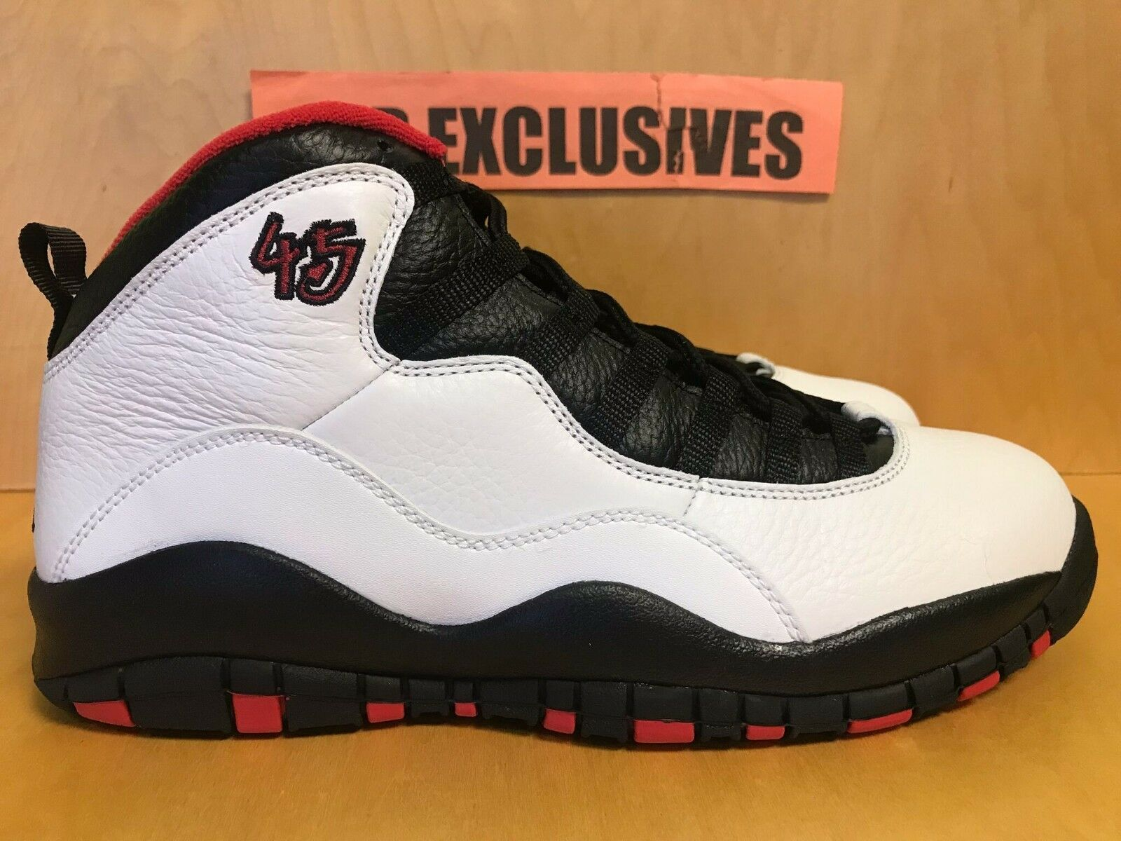 Nike Air Jordan doble 10 retro Chicago 310805-10x doble Jordan níquel 2018 a49f5d