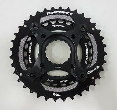 104mm BCD 36t Black RaceFace Turbine 11-Speed Chainring