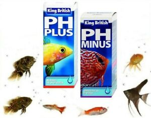 King-British-ph-Plus-y-pH-minus-bufer-de-Tratamiento-de-Agua-para-Acuarios-Tanques-de-Peces