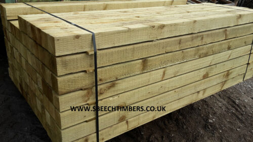 3/'x3/' 1.8m Pressure Treated Incised Fence Posts 75mm x 75mm