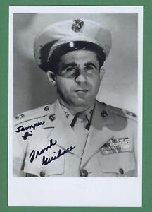 Kataloge & Prospekte Sammeln & Seltenes Gewidmet Frank Guidone Wwii 1st Raider Guadalcanal Unterzeichnet 4x6 Glänzend Foto E18819 Strukturelle Behinderungen