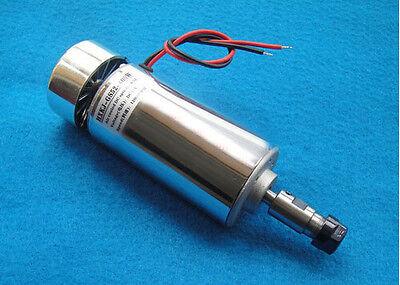 400W Air Cooled Spindle Motor Engraving Milling DC 12V-48V 12000rpm 3.175mm