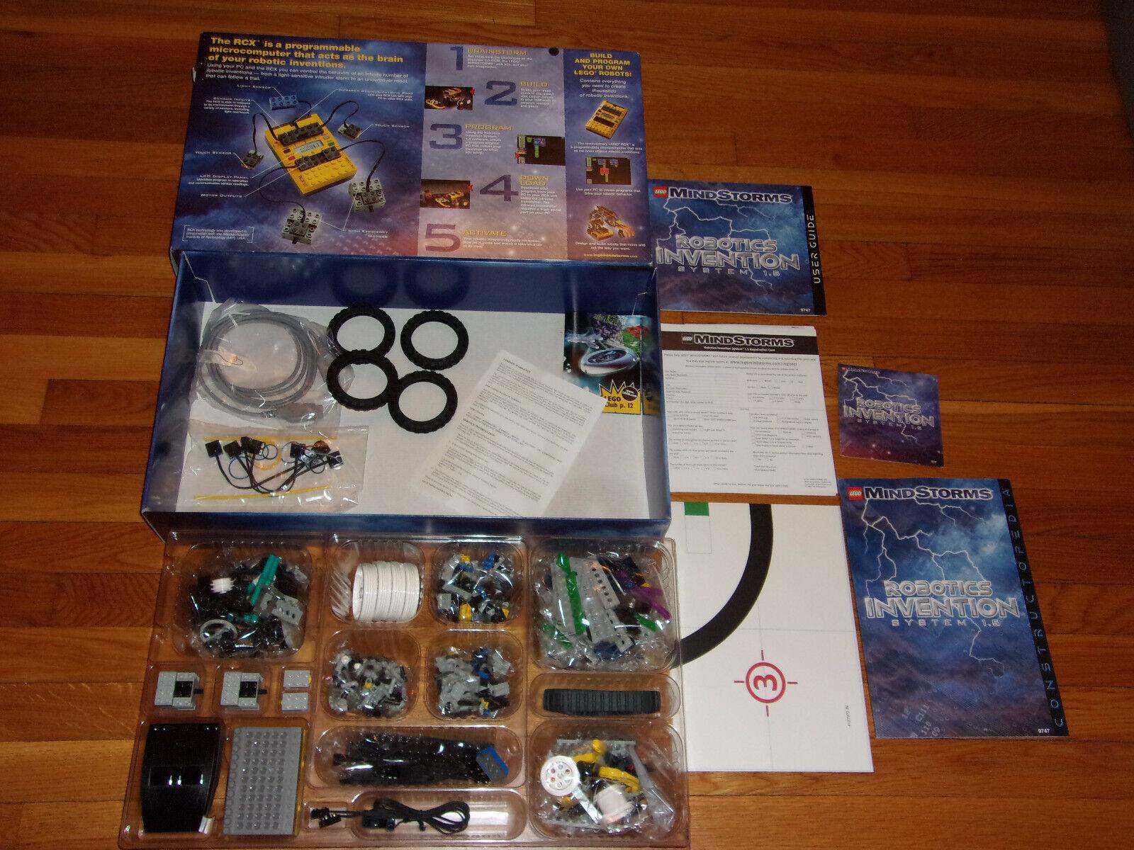 nuovo 1999 Lego Mindstorms Robotics  Invention System 1.5  9747  con il 60% di sconto