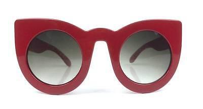 Wolves Sunglasses Retro Plastic Large Frame Fashion Women Cat Eye Round Shades