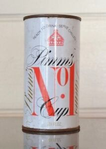 Vintage-Pimm-039-s-soft-drink-can-soda-pop-metal-retro-Pimm-039-s-can-CPLWT