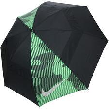 """Nike Golf Windsheer Lite 62"""" Dual Canopy Umbrella, Black/Green"""
