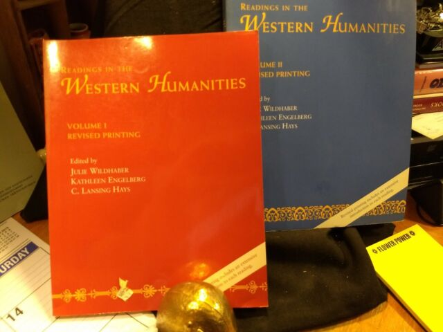 Readings in the Western Humanities Vol. I  & 2 (1994, SC,  Both volumes