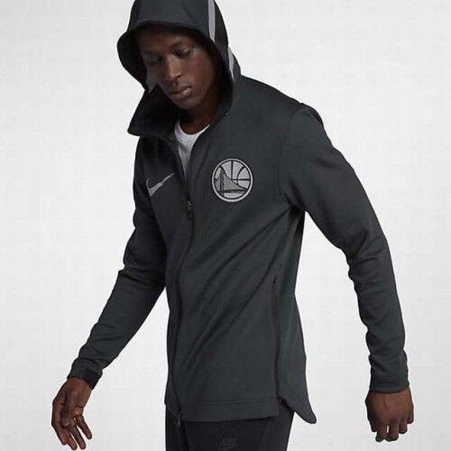 NIKE NBA GoldEN STATE WARRIORS THERMA FLEX SHOWTIME HOODIE (AA1665 014) Größe XXL