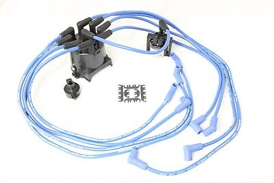 Distributor Cap 8.5mm Spark Plug Wires Coil 1990-95 Chevy GMC Truck 7.4L V8 TBI