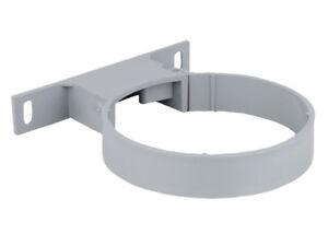 PACK-OF-3-Osma-Socket-Bracket-GREY-BLACK-WHITE-110mm-Wavin-4S083-4S083G-Soil