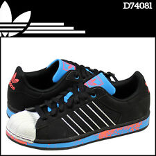 ADIDAS ORIGINAL SUPERSTAR POINT 2 CB SNEAKERS MEN SHOES BLACK D74081 SIZE 13 NEW
