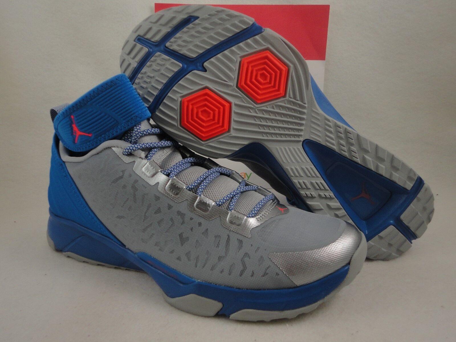 Nike Jordan Dominate Pro 2, Sport Blue / Infrared 23 / Wolf Grey, Comfortable