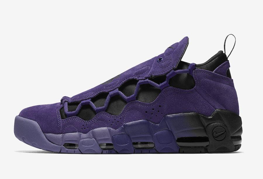 Nike Men's AIR MORE MONEY QS COURT PURPLE Shoes AQ2177-500 c  Brand discount