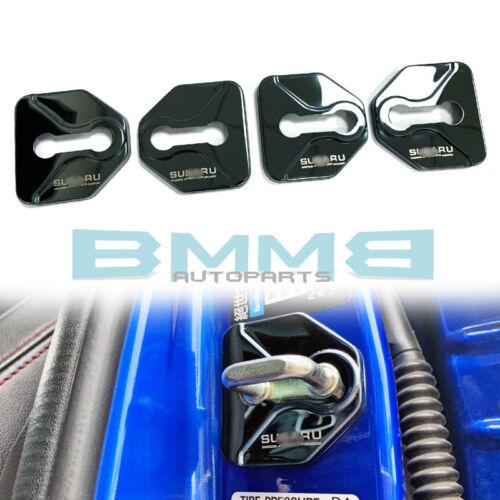 For Subaru WRX STI Levorg outback Impreza Door Lock Protective Cover 12up Black
