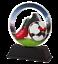 100 mm Football Boot Ball trophée découpés en Forme Acrylique 4 tailles! Gravure Gratuite