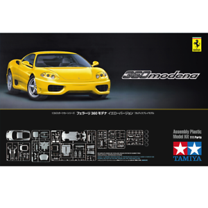 Tamiya 24299 Ferrari 360 Modena Yellow Version 1 24