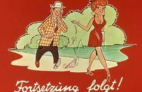 Original Vintage 1950s-60s German Nude 35mm Slide / Negative- Comic- Break
