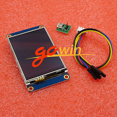 """Nextion 2.4"""" USART HMI TFT Touch LCD Display Module For Raspberry Pi Arduino"""