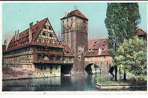 SHURY-039-S-PUBLICATIONS-POSTCARD-THE-EXECUTIONERS-TOWER-NURNBERG-PRE-1914
