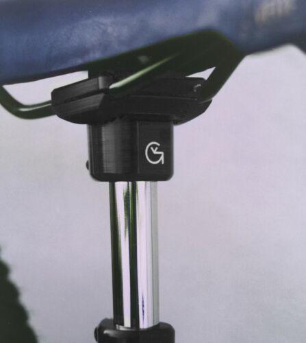 "Von Giese VG BMX SEAT GUTS CNC Aluminum for 7//8/"" Post Made USA BLACK Haro SE GT"