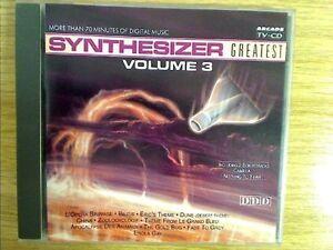 Synthesizer-Greatest-3-1990-92-L-039-opera-sauvage-Bilitis-Eric-039-s-theme-CD