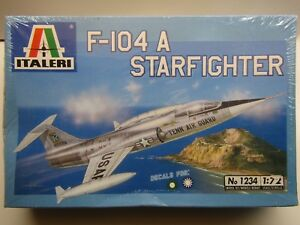 Italeri-1-72-Scale-F-104-A-Starfighter-Model-Kit-New-Sealed-1234