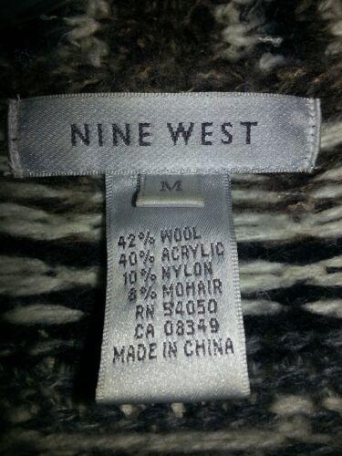 varm Smuk Vest Frakke Kvindes og Hvid Nine Sort rwCqr15O