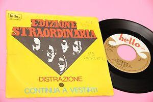 EDIZIONE-EXTRAORDINARIA-7-034-DISTRACCIoN-ORIG-ITALIA-PROG-1976-DISCO-EX