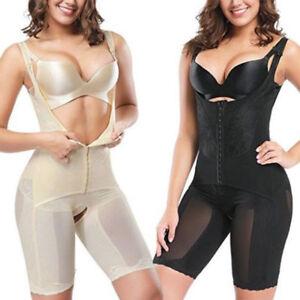 Women-Full-Body-Shapewear-Waist-Trainers-Tummy-Control-Slimming-Bodysuit-Shaper