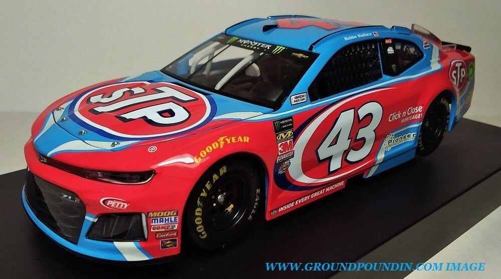 NEW  2018  43 Bubba Wallace STP Chevrolet ZL1 Camaro 1 24 NASCAR Richard Petty