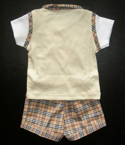 BABY BOY OUTFIT Designer Clothing Boys Shorts /& Top Set for Aged 0-4 Years Old