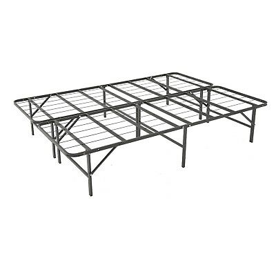 14 Inch King Size Mattress Foundation Platform Bed Frame/Box Spring Replacement