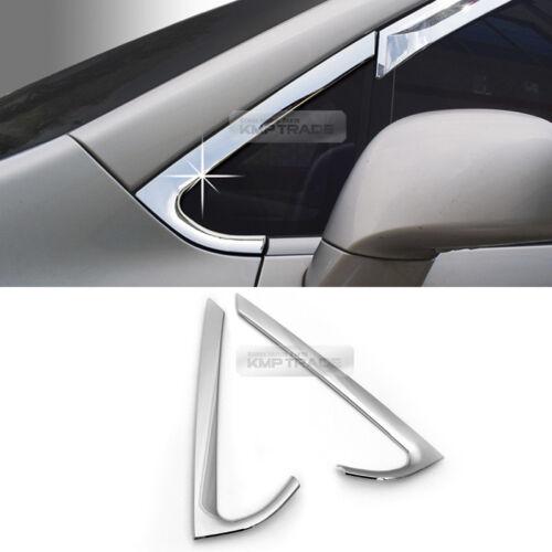 Window A Pillar Chrome Molding Garnish Cover Guard for KIA 2007-13 Rondo Carens
