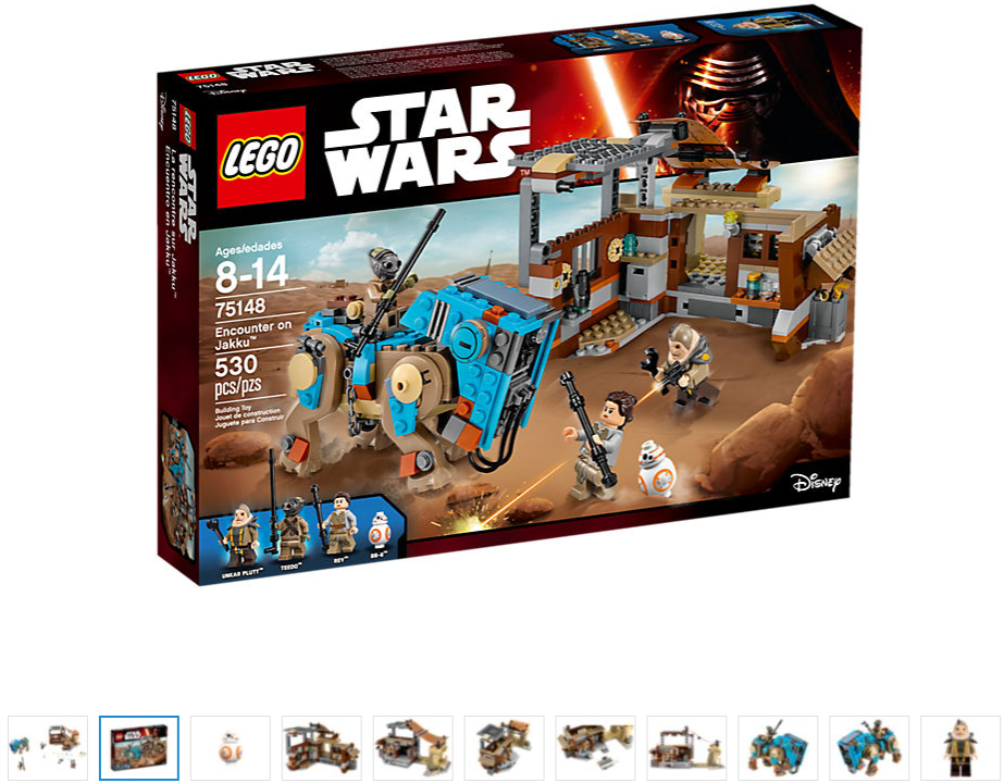 LEGO Star Wars ENCOUNTER ON JAKKU 75148 Nuovo