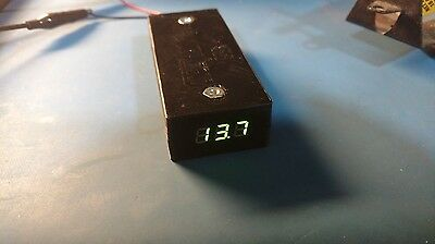 Anderson PowerPole Distribution Block W/Voltmeter PP15-PP45 1-In to 4-Out!!