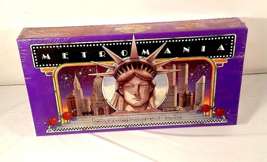 METROuomoIA 1st edizione 1985 nuovo York città tavola gioco Sealed - NYC Subway Tokens