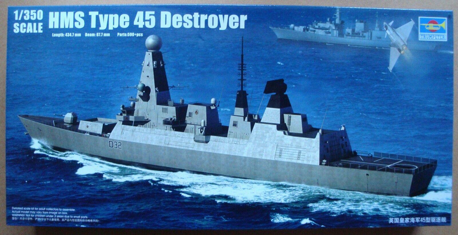 TRUMPETER® 04550 HMS Type 45 Destroyer in 1 1 1 350    Ideales Geschenk für alle Gelegenheiten  58d510
