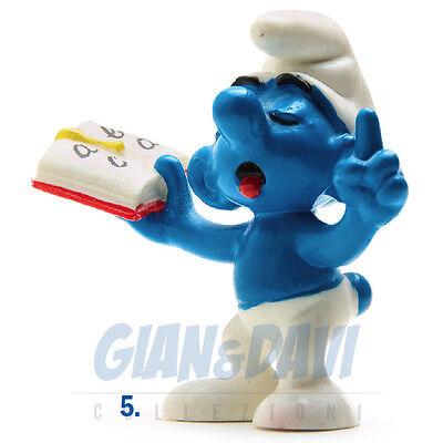 Intenzionale Puffo Puffi Smurf Smurfs Schtroumpf 2.0059 20059 Teacher Smurf Puffo Mestro 5a Adatto Per Uomini, Donne E Bambini