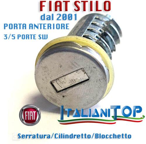 Cilindretto Blocchetto Serratura FIAT STILO dal 2001 PORTA ANTERIORE