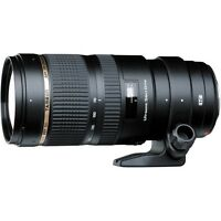 Tamron SP 70-200mm F/2.8 Di VC USD Zoom Lens for Canon Digital SLR (Black)