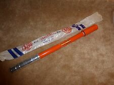 "Vintage 1960's - 1970's  NOS  Silca ""Flat Top"" Frame Pump - ORANGE"