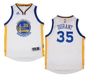 53051835a8cd Youth Kevin Durant  35 Golden State Warriors NBA Adidas White ...