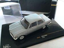 BMW 2002tii 1972 Silver1:43 IXO VOITURE-COLLECTION-DIECAST-IXOCLC253